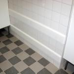 Avbärarlister/ väggskydd